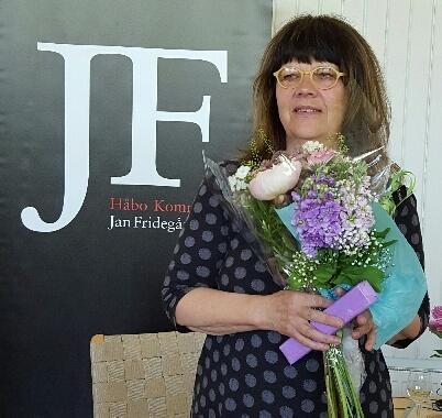 Helene Rådberg, pristagare 2016, Jan Fridegårdssällskapet.